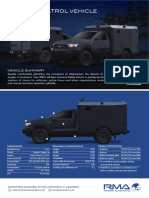 Brosur RMA Ford Armored Patrol Vehicle FLYER