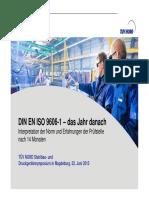 Schweisstechnik DIN EN ISO 9606-1