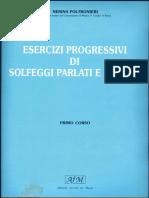 Ejercicios Progresivos de Solfeo Hablado y Cantado Nerina Poltronieri