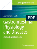 Andrei I. Ivanov Gastrointestinal Physiology and Diseases Methods and Protocols