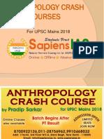 Anthropology Crash Courses