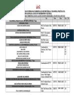Calendario de II Chamada 2018-2019 UV