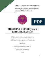Rehabilitacion en La Medicina Deportiva