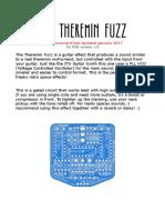 Theremin Fuzz Doc