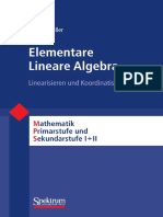 Elementare Lineare Algebra - Filler
