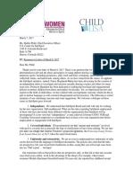 SafeSport Response to Pfohl 03/07/2017