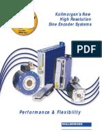 High Resolution Sine Encoder Systems en-US