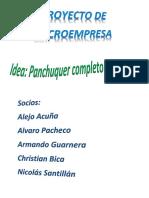 Proyecto de Microempresa