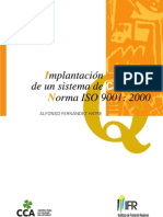 Implantacion de Un Sistema de Calidad Norma ISO 9001-2000
