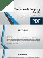 Teoremas de Pappus y Guldin