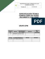 Conductores de Acero Recubierto Con Cobre
