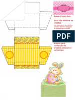 Caixa Cenário Para Dois Brigadeiros Propraarto PDF