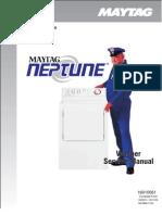 Maytag Neptune MAH3000AWW Washing Machine Service Manual