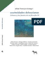 Intensidades deleuzianas - Deleuze y las fuentes de su filosofia III.pdf