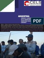Argentina. Avances y Asignaturas Pendientes en La Consolidacion