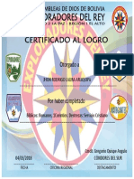 Certificado de Ascenso