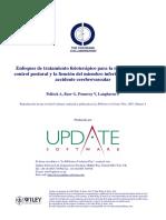 Tx fisioterapico recuperacion control postural y función MP AVC.pdf