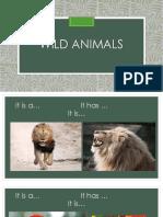 Wild Animals for Kids Speaking