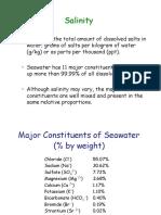 Hydrology Salinity