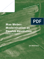 (Historical Materialism) Jan Rehmann-Max Weber_ Modernisation As Passive Revolution_ a Gramscian Analysis-Brill Academic Pub (2014).pdf