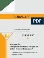 ORÇAMENTO DE OBRAS - 5 - CURVA ABC e LICITAÇÕES.pptx