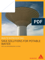 Brochure_Waterproofing_ Sika Solutions for Potable Water_GCC_low