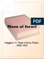 Moon of Israel by H. Rider Haggard