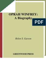 Oprah Winfrer Biography