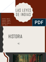 Documental Las Leyes de Indias