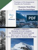 Tourisme de Masses à Chamonix Mont Blanc