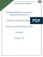 Fromulación de Proyectos Digital