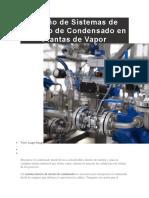 Diseño de Sistemas de Retorno de Condensado en Plantas de Vapor.docx