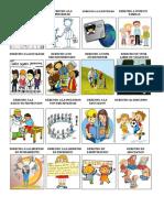 20 Derechos de Los Niños Con Ilustracion