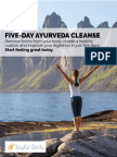 Five-Day Ayurveda Cleanse