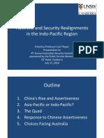 Thayer, Australia & Security Realignments