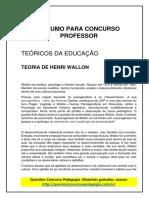 40. RESUMO PARA CONCURSO PROFESSOR - HENRI WALLON.pdf