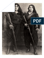 Two Armenian Women Pose With Their Rifles Before Going to War Against the Ottomans, 1895.