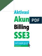 Aktivasi SSE 3 Membuat Billing Pajak via PC Agen Billing Pajak Laku Pandai Brilink Square