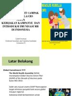 Kebijakan Kampanye Dan Introduksi Imunisasi MR Sumbar
