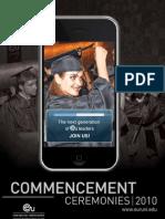 Commencement Newsletter 2010