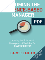Becoming the Evidence-Based Manager Making the Science of Management Work for You, 2nd Edition