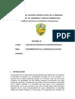 Informe Densidad de Aceites.
