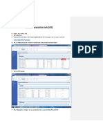 Process flow -Manufacturing
