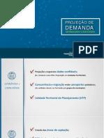 Projeção de Demanda Passageiros Aéreos - Governo Federal 2017