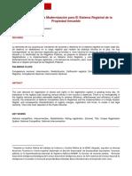 USMP_Modernizacion Sistema Registral Propiedad Inmueble