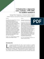 Urbanización y Migración