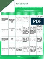 Matríz de Evaluación Módulo Electivo Gestión de La Tecnología y La Innovación