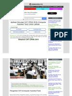 Aplikasi Simulasi CAT CPNS 2018 (Computer Assisted Test) Untuk Latihan