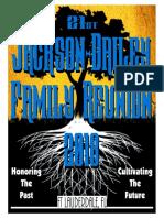 jackson~dailey reunion 2018 souvenir book