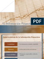 2. La Informacion Financiera y Contable
